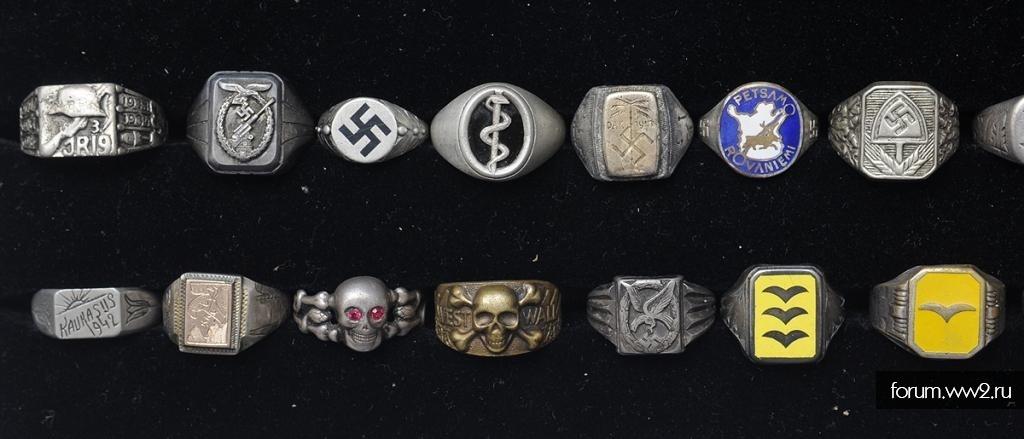 Коллекция колец на ВВ2