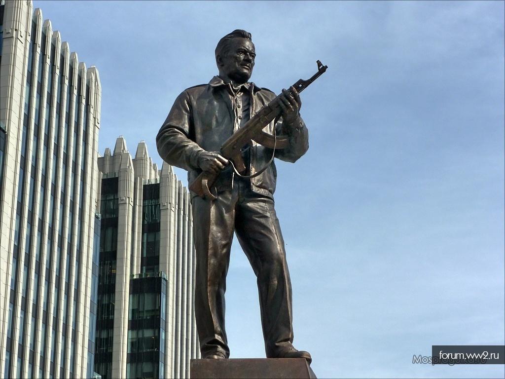 Про памятник М.Т.Калашникову в Москве уже все в курсе?)