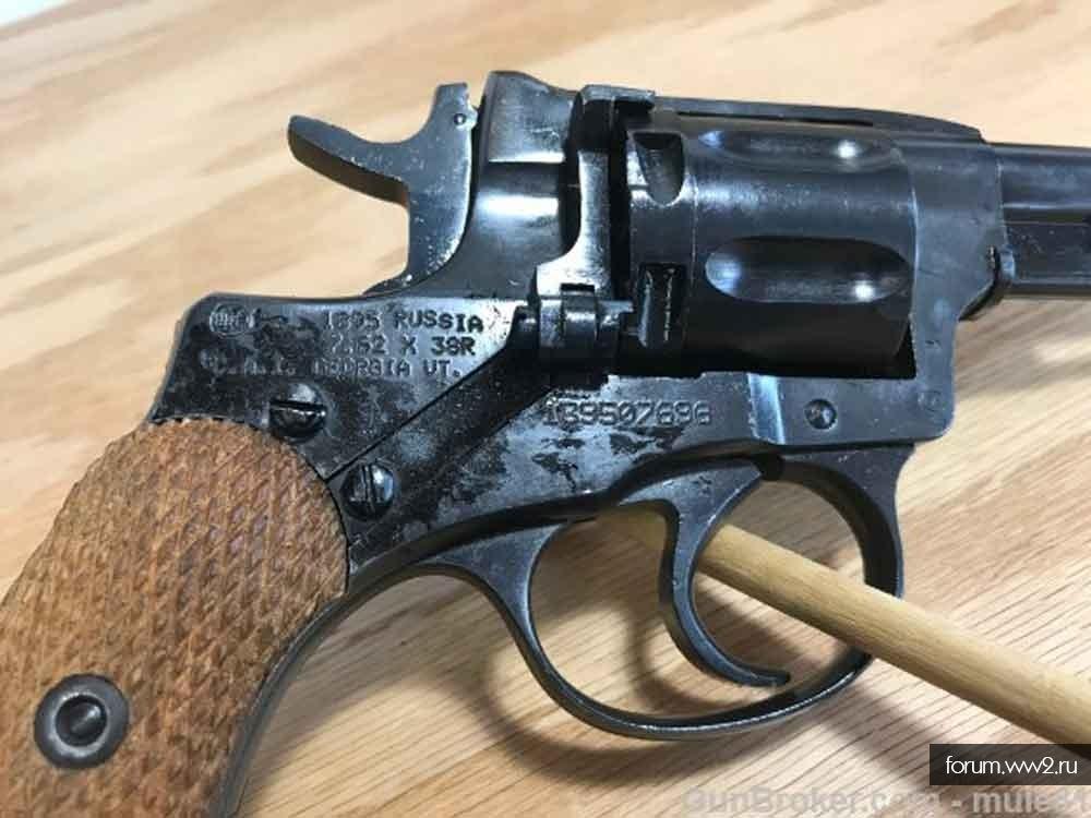 Револьверы до 1900 г. Европа.