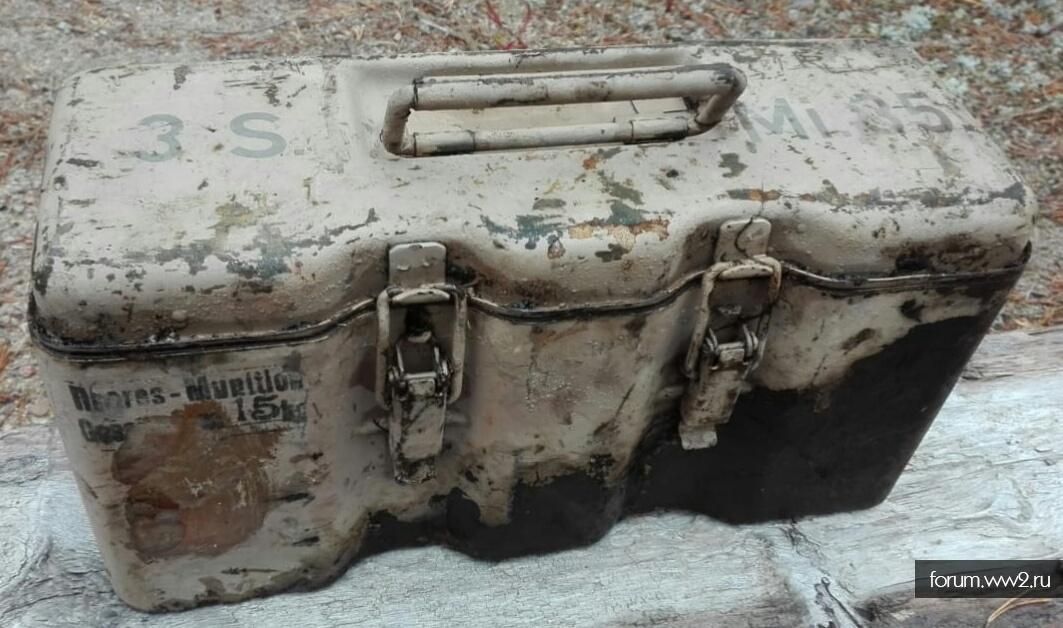 Ящик переноска для 3smi35шпринг мин