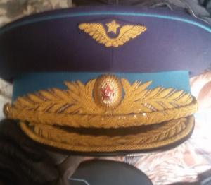 Парадная фуражка генерала ВВС образца 1955 года