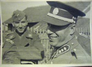 Кокарда шлема жандармерии и полиции Протектората