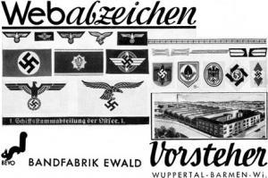 Повязка НСДАП. Временной период
