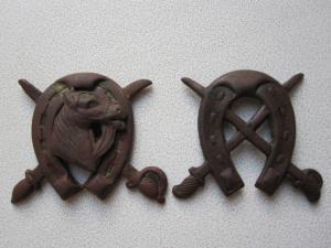Кавалерийская кокарда или петличный знак