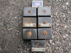 Бакелитовые коробки с ганс бронетехники ( реле предохранители )