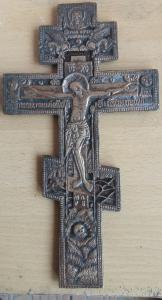 Киотный крест распятие.