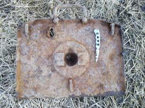Плита миномёта 8 cm