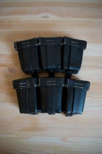 Коллекционные подсумки МИНТ, парные, на красивом клейме 1/0666/0018  1944