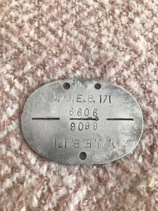 1./J.E.B. 171 личный номер 6606