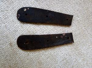 Щёчки окопного ножа Пума