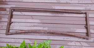 рамка лобового стекла полуторка ( с рубля )