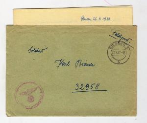 Письмо немецкого горного стрелка (32958)