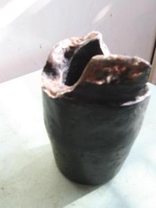 Пепельница карандашница подсвечник-из 76мм снаряда (2)