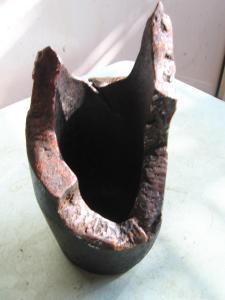 Пепельница карандашница подсвечник-из 76мм снаряда(1)