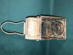 Латунный карбидный фонарь 1939 года A.SARTORIUs