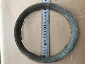 Круглый венец с рисунком на определение.Дм.19.5 см