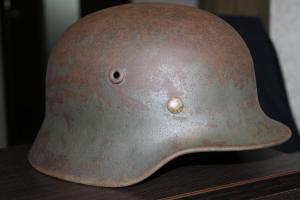 Каска немецкая М40/64 чердак