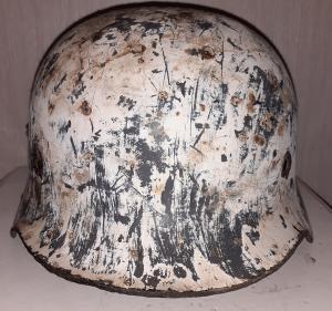 Шлем М35 зимник. Люфт. Q64. Подписной