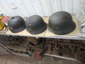 Три шлема одним лотом