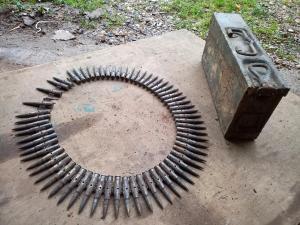 Ящик MG стальной с макетами