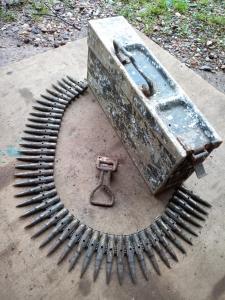 Алюминиевый ящик МГ с макетами