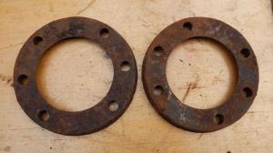 Пыльники передней ступицы газ-аа/мм