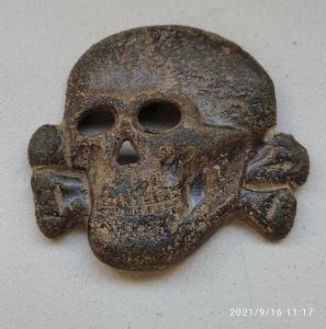 Кокарда СС. Мертвая голова