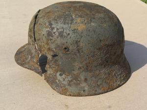 Расколотый подписной шлем М 35