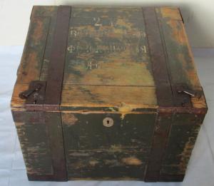 ящик с лазарета?