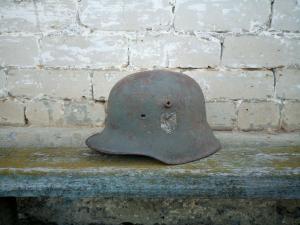 Шлем М-18,Сталинград.