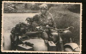 Коляска к мотоциклу BMW R-75