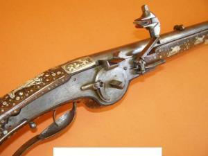 Старинный мушкет
