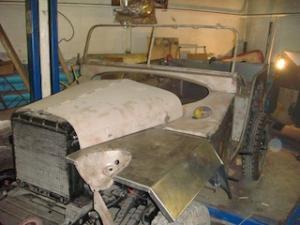 реставрация ГАЗ 67