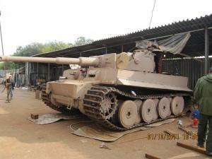 """Создан действующий макет танка """"Тигр"""""""
