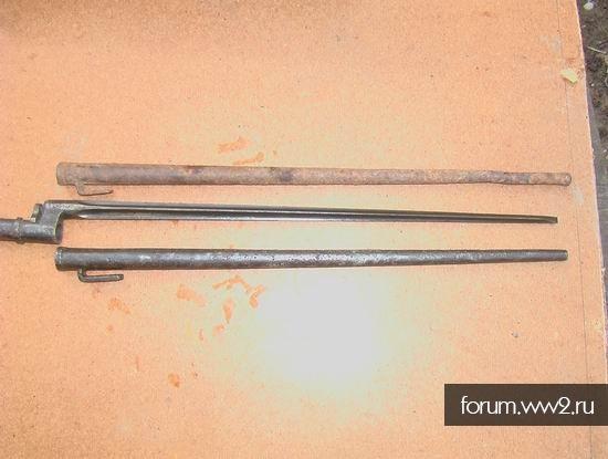 Ножны для штыка к винтовке Мосина.