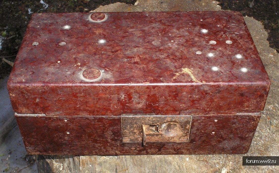 Части, детали и принадлежности  карбидного фонаря (вермахт)
