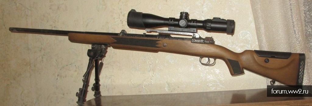 Не стандартные ложи для винтовок СССР и Германии.