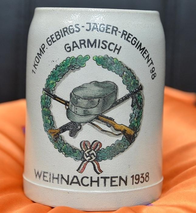 Полковые кружки Gebirgsjäger