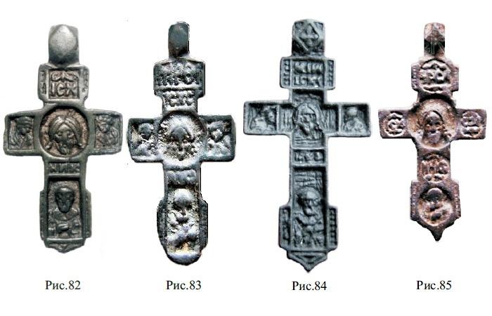 крестик с ликом