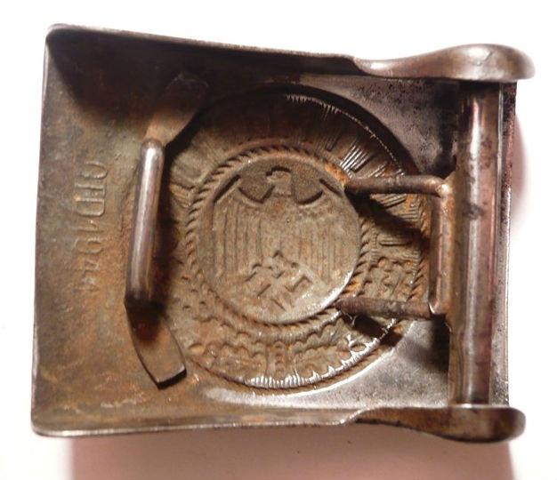 Ремни и пряжки Wehrmacht из ваших коллекций