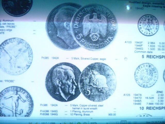 Монета Третий Рейх, новодел или реальная?!