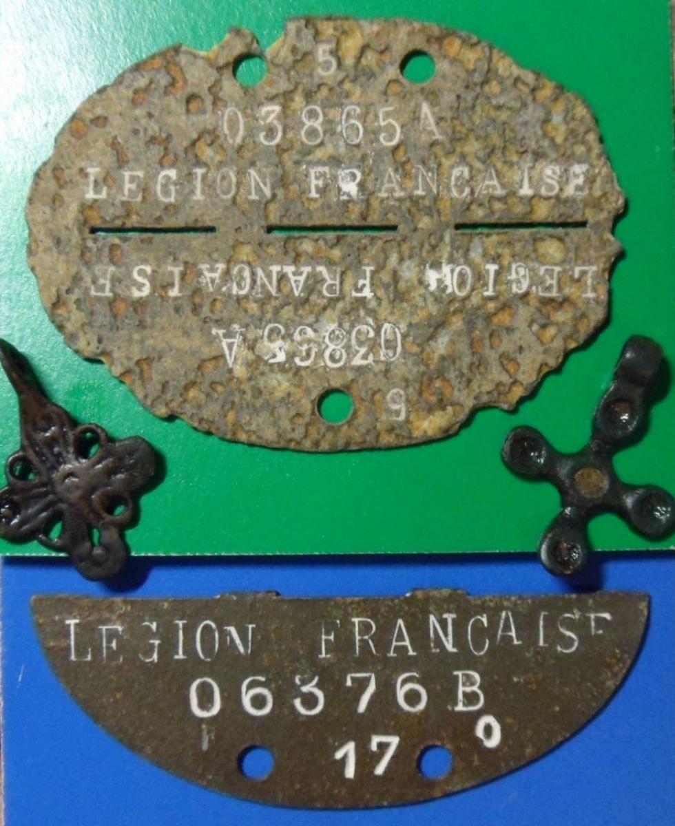 французский легионер 638 J.R. 7 ID.