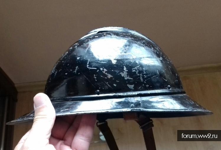 Финский перекрас русского шлема Адриана?