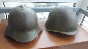 Два шлема СШ 36 и СШ 39 одним лотом