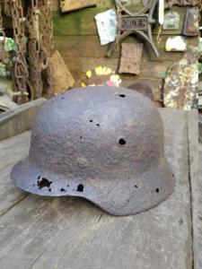 антуражная каска с алюминиевым обручем
