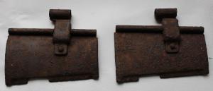2 дверцы от кекса к пулемету MG - 34