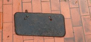 БА-10 Дверца радиатора