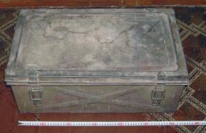 Оригинальный немецкий ящик для документов и коробка для каких то ампул.