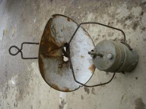 Лампа керосиновая  с клеймом РАД