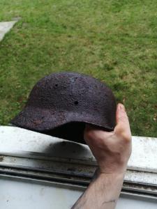 Крепкий колпак солдата Вермахта